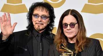 None - Ozzy Osbourne e Tony Iommi (Foto: Frazer Harrison/Getty Images)