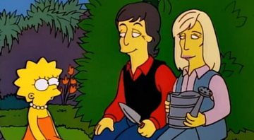 None - Paul McCartney, Linda McCartney e Lisa (foto: reprodução/ Fox)