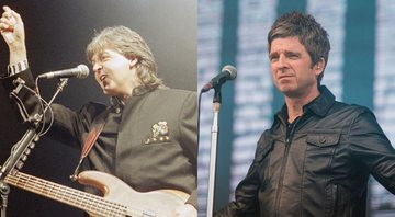 None - Paul McCartney (Foto: Tim Sharp / AP) e Noel Gallagher (Foto: Mauricio Santana/Getty Images)