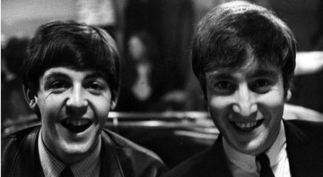 None - Paul McCartney e John Lennon (Foto: Dalmas Sipa Press / AP Images)