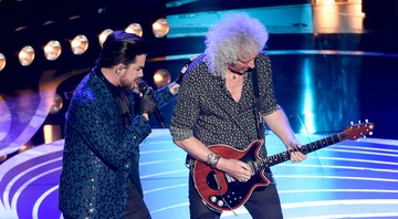 None - Adam Lambert e Brian May, do Queen, abriram o Oscar 2019 (Foto: Chris Pizzello/Invision/AP)