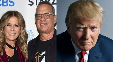 None - Tom Hanks e Rita Wilson Donald Trump, presidente dos EUA (Foto 1: AP | Foto 2: Mark Seliger)