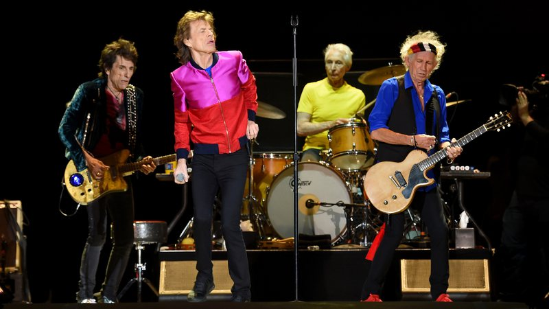 Rolling Stones em outubro de 2016 (Kevin Winter/Getty Images)