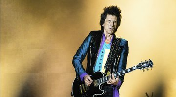 None - Ronnie Wood, guitarrista dos Rolling Stones (Foto: Chris Tuite/imageSPACE/MediaPunch /IPX)