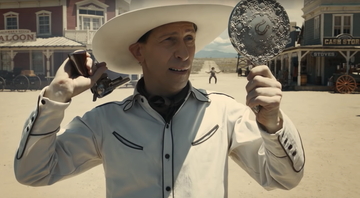 None - Tim Blake Nelson no novo trailer de The Ballad of Buster Scruggs (Foto: Reprodução)