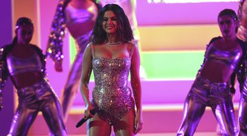 None - Selena Gomez no American Music Awards (Foto: Chris Pizzello / Invision / AP)