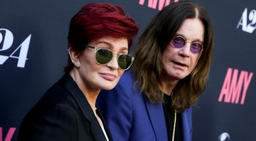 None - Sharon e Ozzy Osbourne (Foto: Rich Fury/AP)