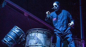 None - Chris Fehn, percussionista do Slipknot (Foto:Amy Harris/Invision/AP)