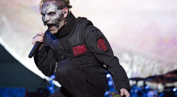 None - Corey Taylor, do Slipknot (Foto: Agencia El Universal / Christopher Rogel Blanquetevz / AP)
