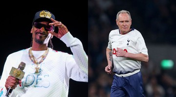 None - Snoop Dogg e Paul Gascoigne (Fotos: Paul R. Giunta/Invision/AP e Press Association/AP Images)
