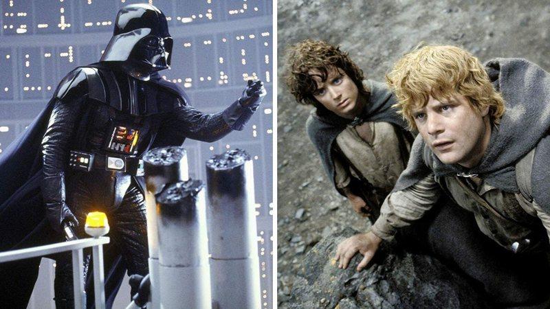 Qual filme de fantasia foi eleito o melhor de todos os tempos: Star Wars ou O Senhor dos Anéis?