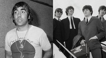 None - Keith Moon (Foto 1: AP) e Beatles (Foto 2: AP)