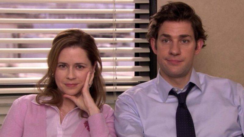 Jim e Pam em The Office
