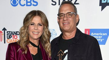 None - Tom Hanks e Rita Wilson (foto: AP)