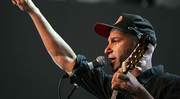 None - Tom Morello, guitarrista do Rage Against the Machine (Foto: Branimir Kvartuc / AP)