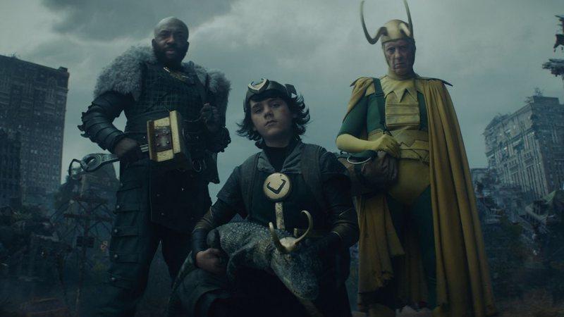 Por que Loki gargalha quando vai morrer?