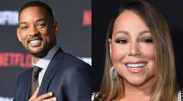 None - Will Smith (foto: AP / Jordan Strauss) e Mariah Carey (Jamie McCarthy/Getty Images)