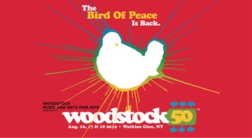None - Cartaz do festival Woodstock 50