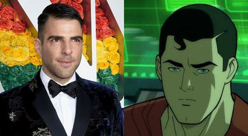 None - Zachary Quinto (Foto: Evan Agostini/Invision/AP) e Superman: Man of Tomorrow (Foto: Reprodução/Warner Bros.)
