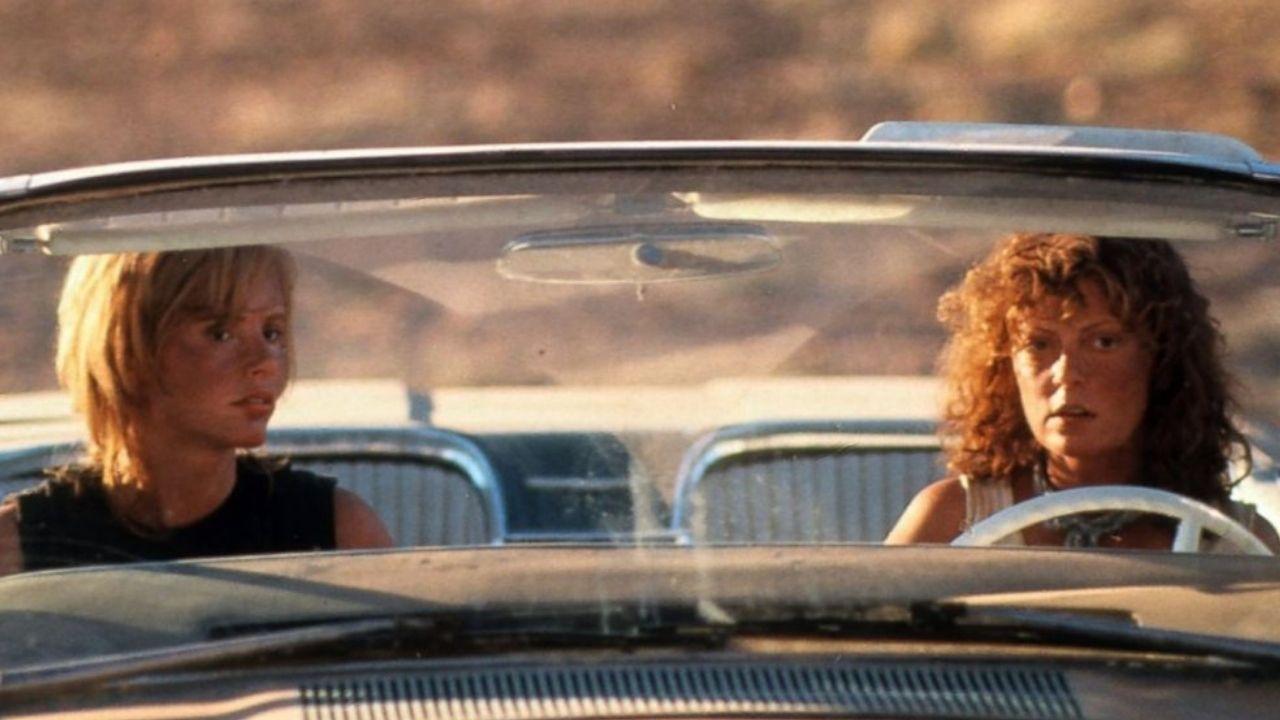 Susan Sarandon e Geena Davis em Thelma & Louise (1991) (Foto: Divulgação)
