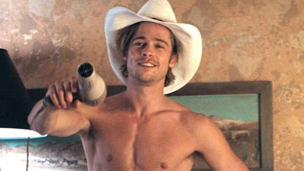 Brad Pitt como J.D. em Thelma & Louise (1991) (Foto: Divulgação)