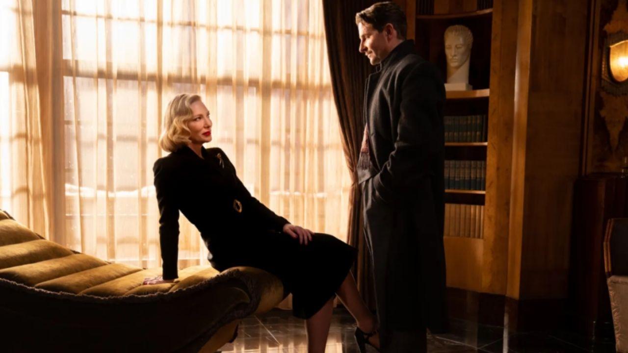 Cate Blanchett e Bradley Cooper em Nightmare Alley (Foto: Divulgação/Vanity Fair)