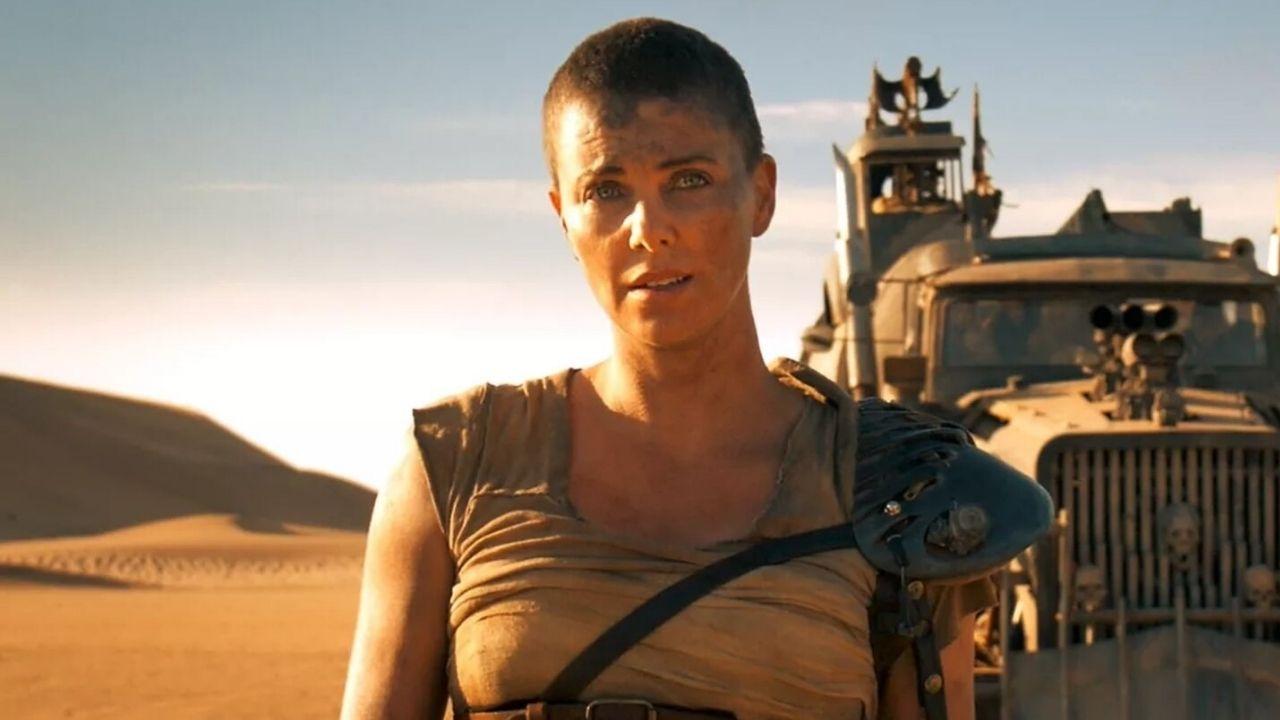 Charlize Theron como Furiosa - Mad Max: Estrada da Fúria (2015) (Foto: Divulgação)