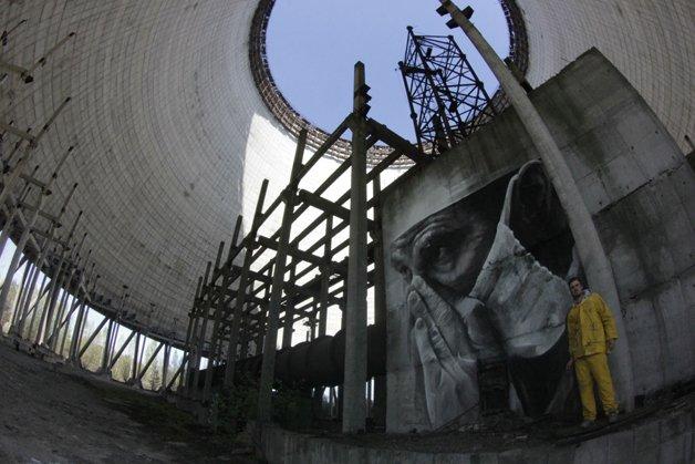 Arte Chernobyl divulgacao