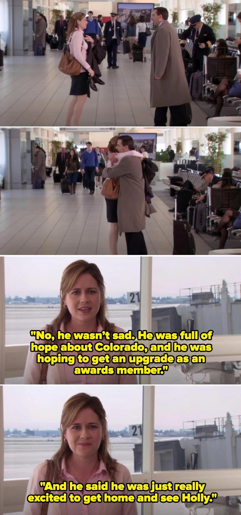 Despedida-de-Michael (Foto Reprodução NBC)
