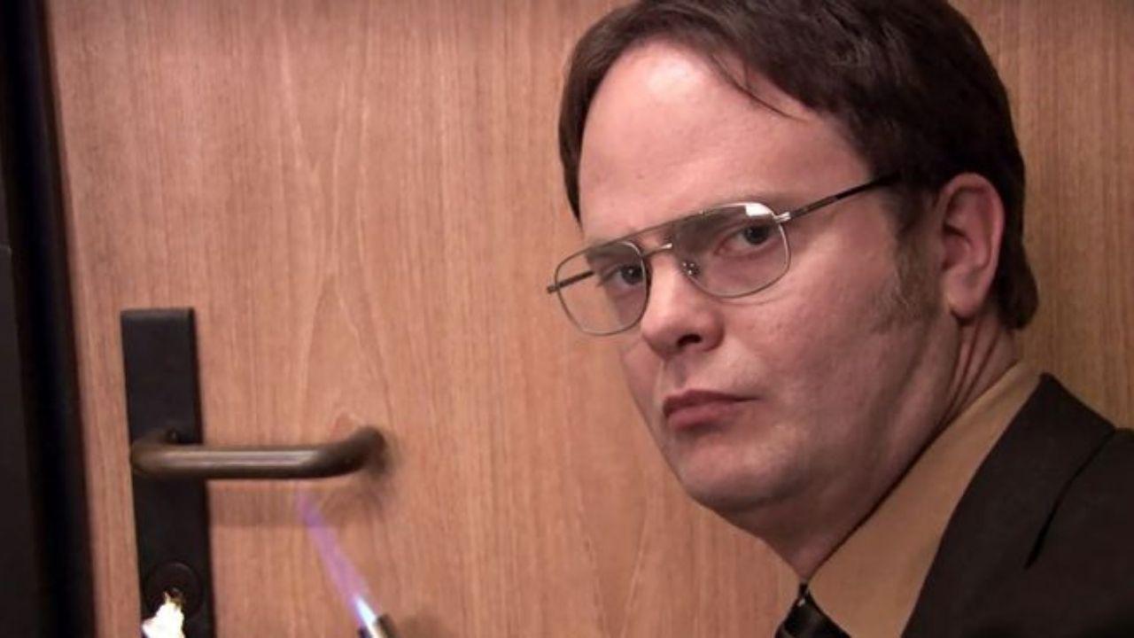 Dwight Schrute (Rainn Wilson) em The Office (Foto: Reprodução)