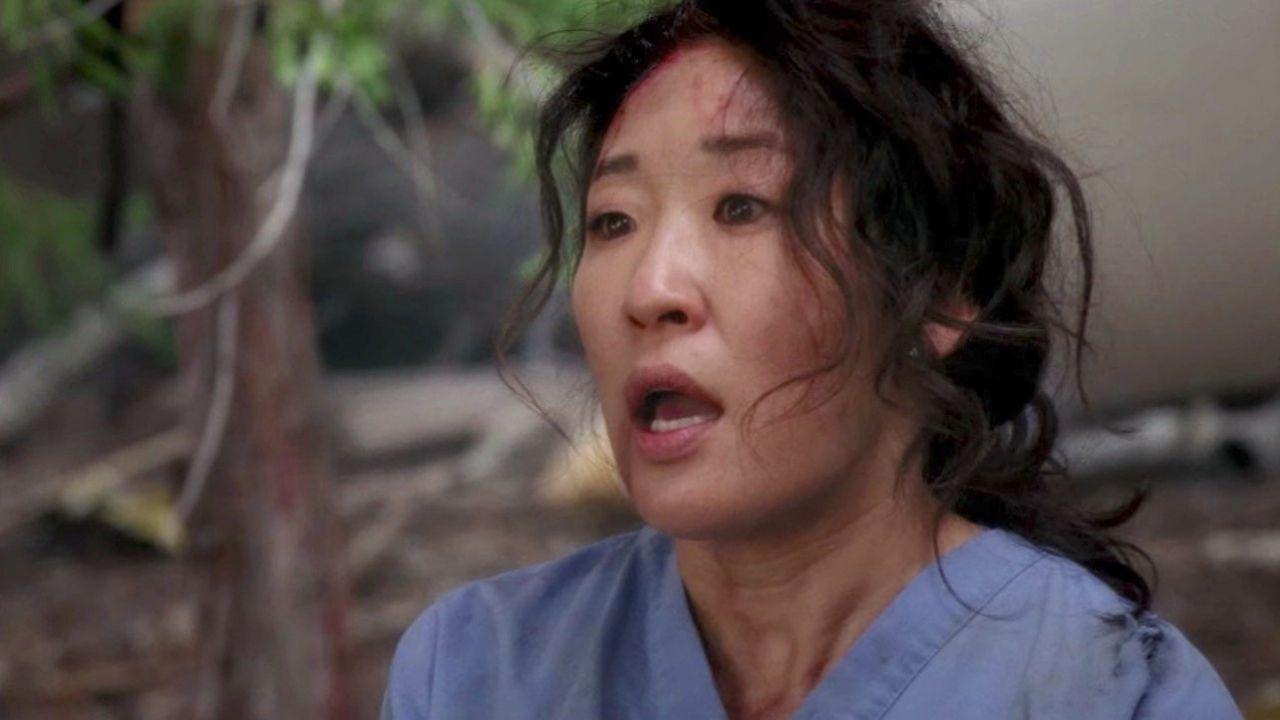Sandra Oh como Cristina Yang em Grey's Anatomy (Foto: Divulgação)