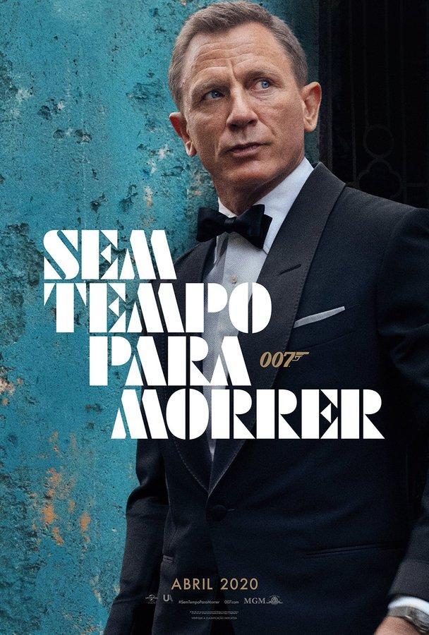 Rolling Stone 007 Sem Tempo Para Morrer Primeiro Poster De