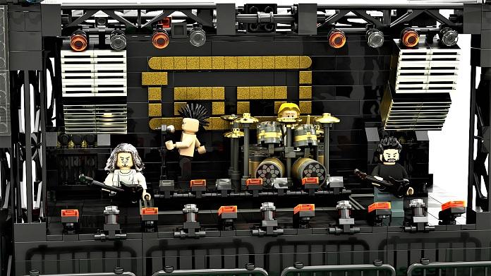 projeto palco turnê tool