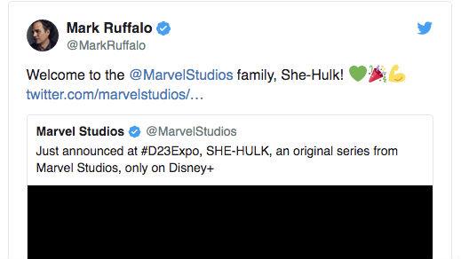 Post de Mark Ruffalo