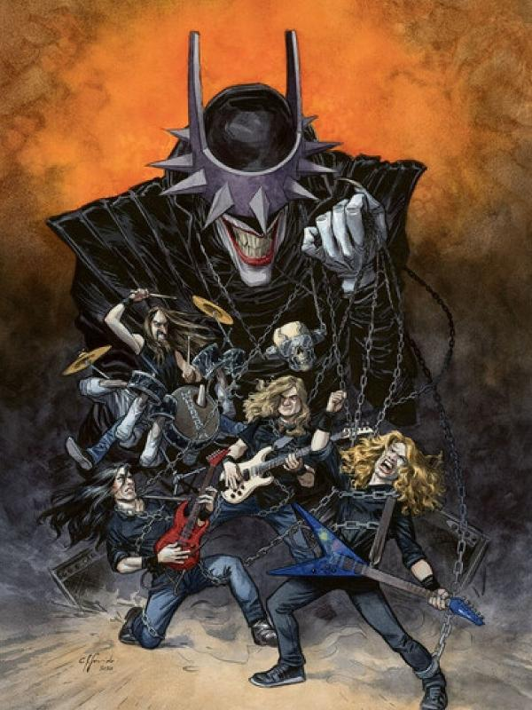 megadeth dark nights death metal divulgacao dc - Mais Goiás