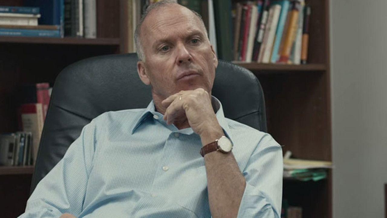 Michael Keaton em Spotlight: Segredos Revelados (2015) (Foto: Divulgação)
