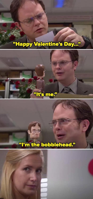 O presente de Angela para Dwight (Foto Reprodução NBC)