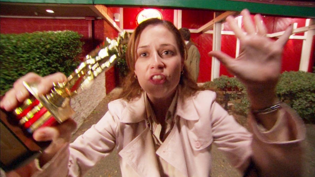 Pam Beesly (Jenna Fischer) em The Office (Foto: Reprodução)