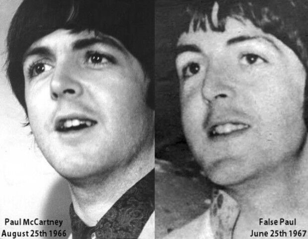 Paul McCartney substituído reprod