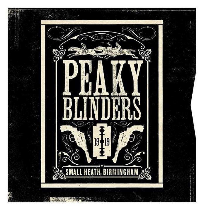 álbum Peaky blinders divulgacao