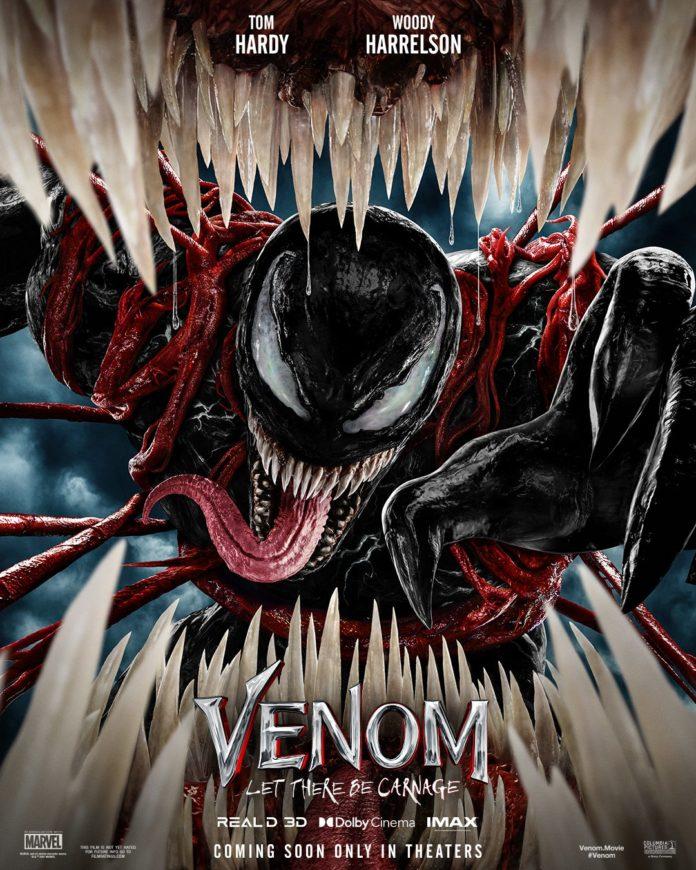 poster de venom e carnificina