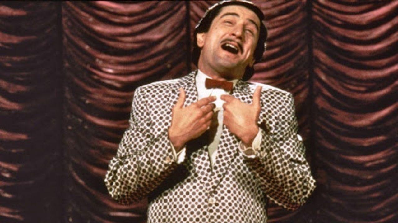 Robert De Niro como Rupert Pupkin - O Rei da Comédia (1982) (Foto: Divulgação)