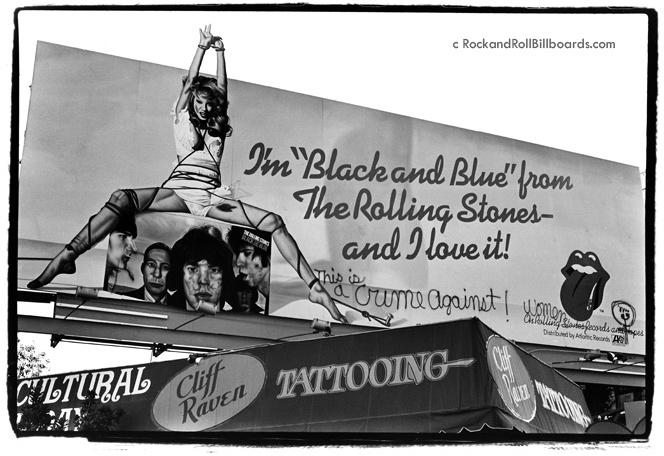 Propagadanga de Black and Blue pixada. ( Foto: Reprodução / Robert Landal / Rolling Stone EUA)