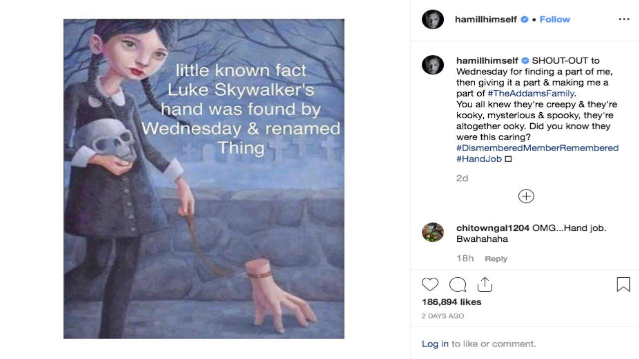 Instagram Mark Hamill