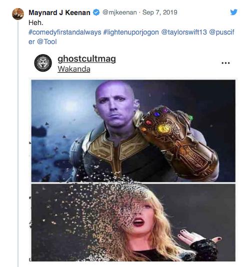 Post Keenan Twitter