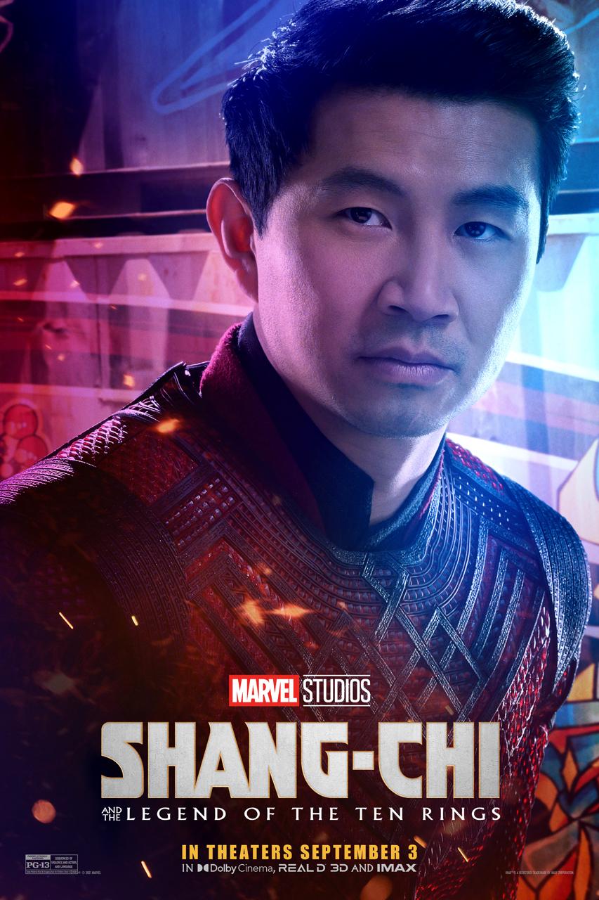 Simu Liu como Shang Chi