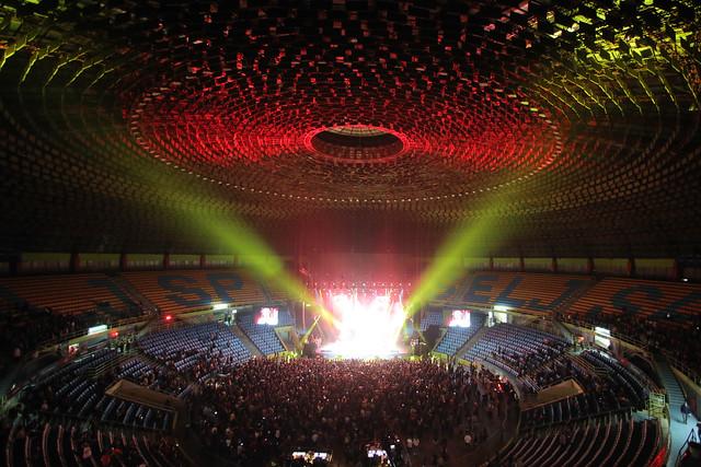 Weezer se apresenta no Ginásio do Ibirapuera (foto:Ricardo Matsukawa/Divulgação)
